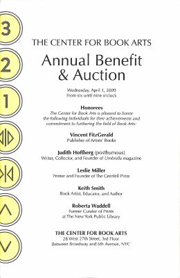 [2009 annual benefit program and auction guide]